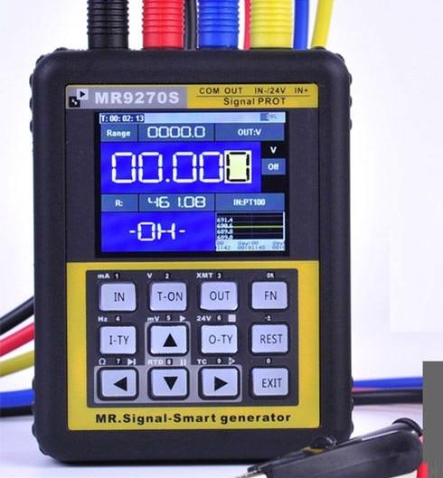 4-20mA signal generator calibration Current voltage PT100 thermocouple Pressure transmitter Logger frequency MR9270S 4 20ma signal generator calibration current voltage pt100 thermocouple pressure transmitter logger pid frequency mr9270s