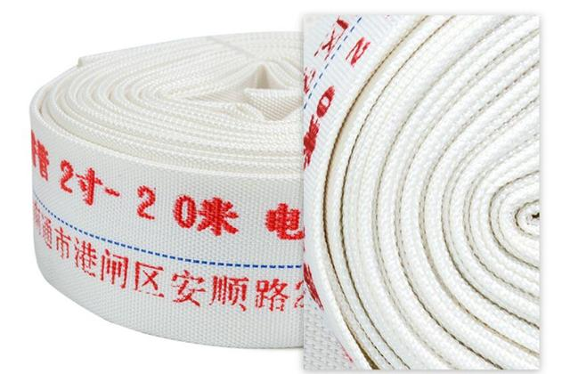 50mm High Pressure Water Hose Garden Irrigation Watering Hose Antifreeze Canvas Fire-Protection Hose 20m/roll