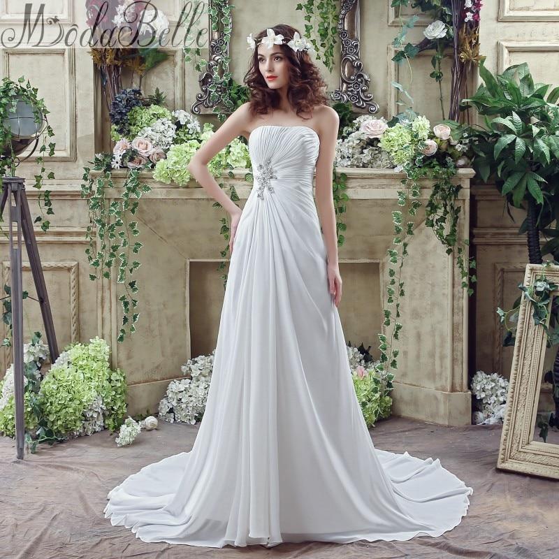 Online get cheap beach wedding dresses casual aliexpress for Informal wedding dresses cheap