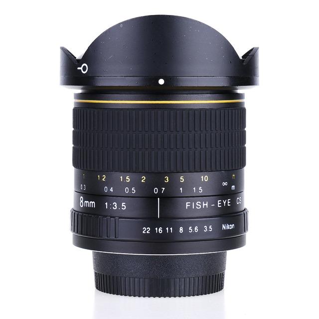F/3.5 Ultra Wide Angle Fisheye Lens For Nikon