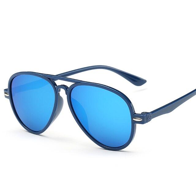 b5dc60f643d Hindfield Children Dark Glasses Baby Sunglasses Boys Gilrs Kids Coating  Mirror Eyewear UV Protection Sun Glasses Eyeglasses