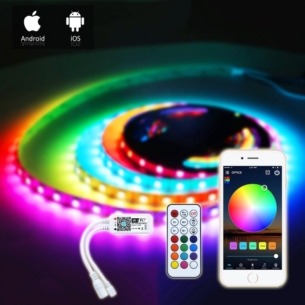 SONOFF L1-2M Smart WiFi LED Light RGB Waterproof Strip Strip for Google Alexa HQ
