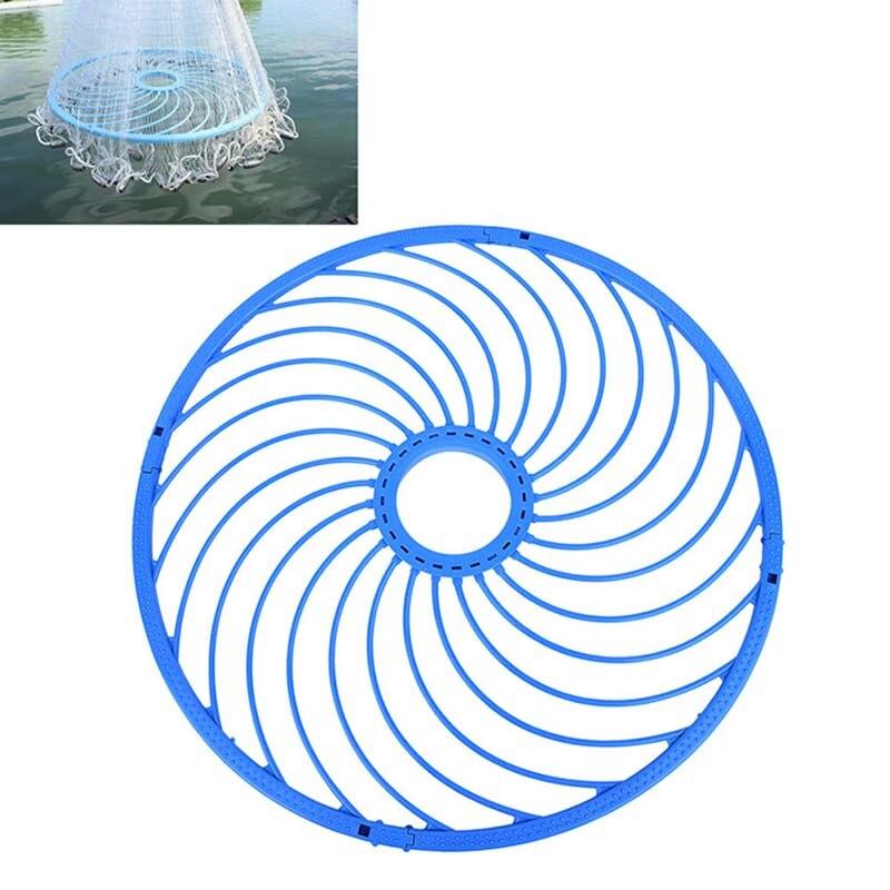 48 cm Cast Net Fischernetz Zubehör Werkzeug Amerikanischen Netzwerk Aluminium Ring Fangen Fischernetze Hand Seil Ring