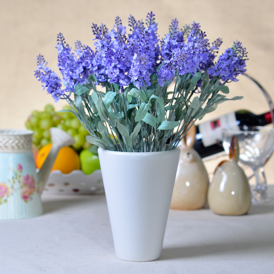 Compare prices on silk flower factory online shoppingbuy low factory direct wholesale provence lavender flower simulation silk flowers living room decorative plastic flowerschina dhlflorist Gallery