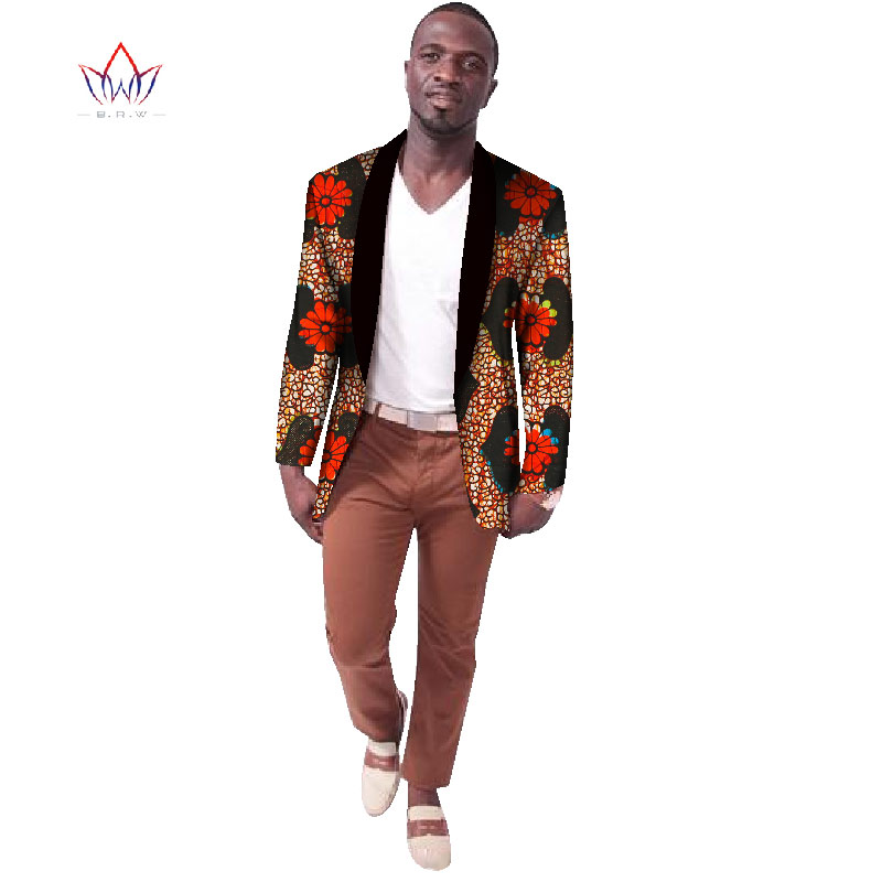 Buy 2017 Custom African Print Blazer Suit Coat African Style Men Casual Fashion