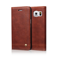 Flip Leather Phone Cases For Samsung Galaxy S7 Note 7 Case Wallet Pouch Style Card Slot