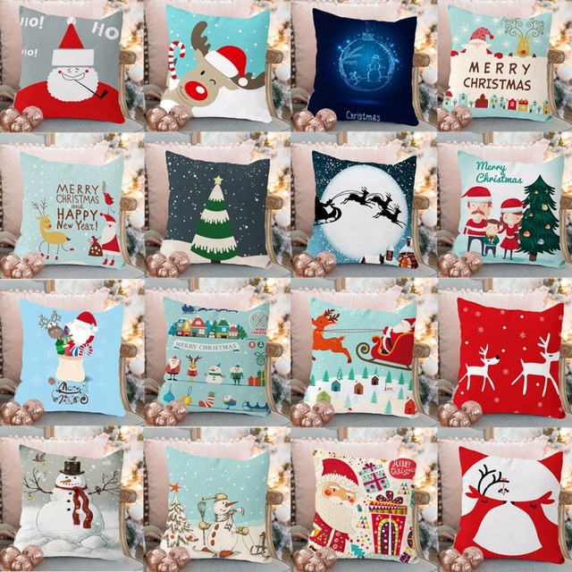 Christmas Pillow Merry Christmas Decoration For Home 5