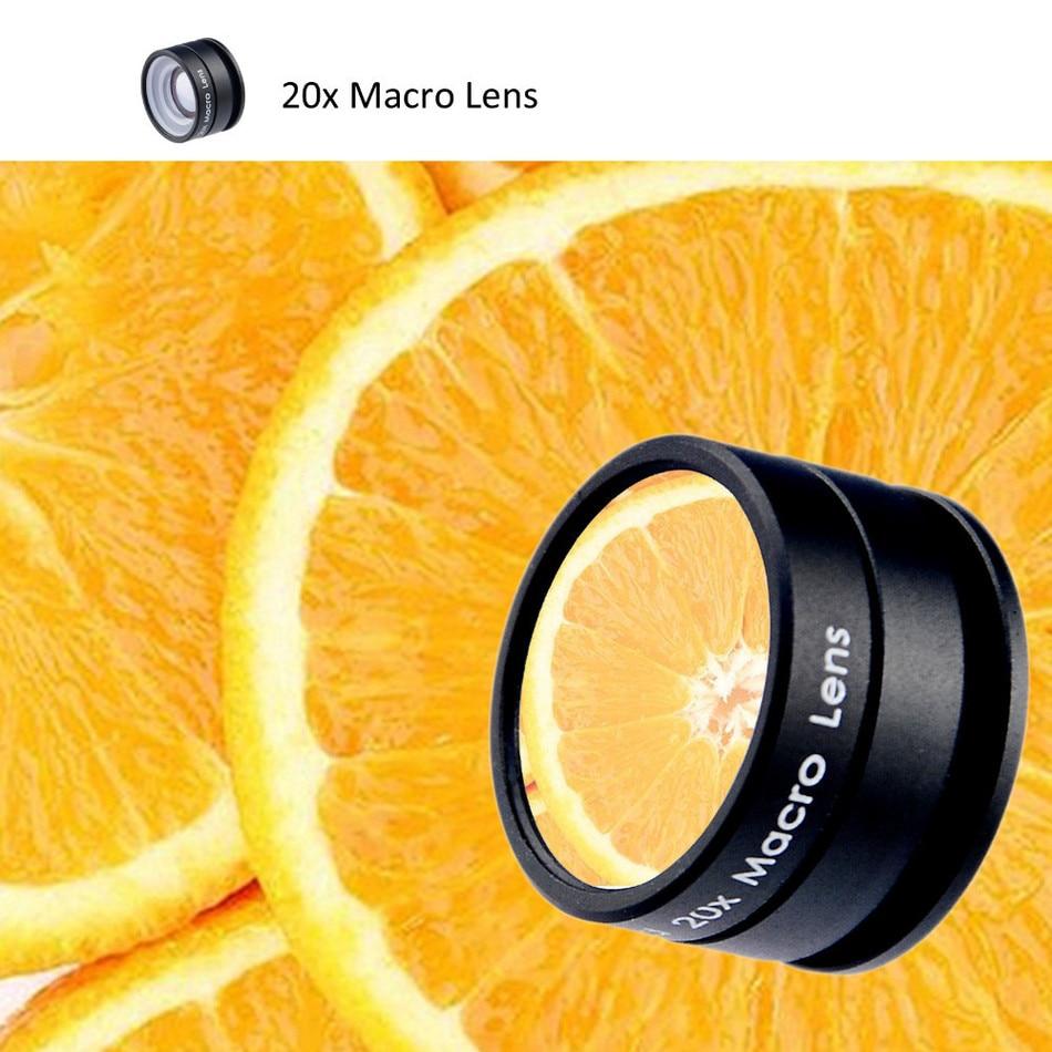 2017 20X Macro lens For Meizu m3e m2 mini m3s Microscope Mobile Phone Camera Lenses For Xiaomi redmi 2 3 S 4 note 3 MI4 MI5 MI6