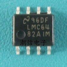 цены на New original LMC6482AIMX LMC6482AIM LMC6482 6482AIM  SOP8 operational amplifier chip  в интернет-магазинах