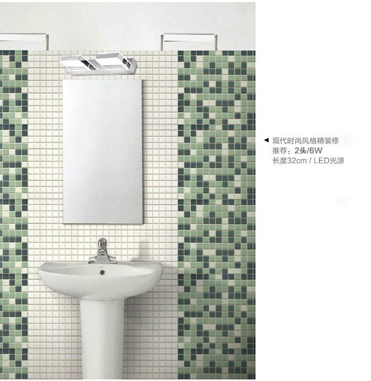 New 3w 6w 9w Stainless Steel Bathroom
