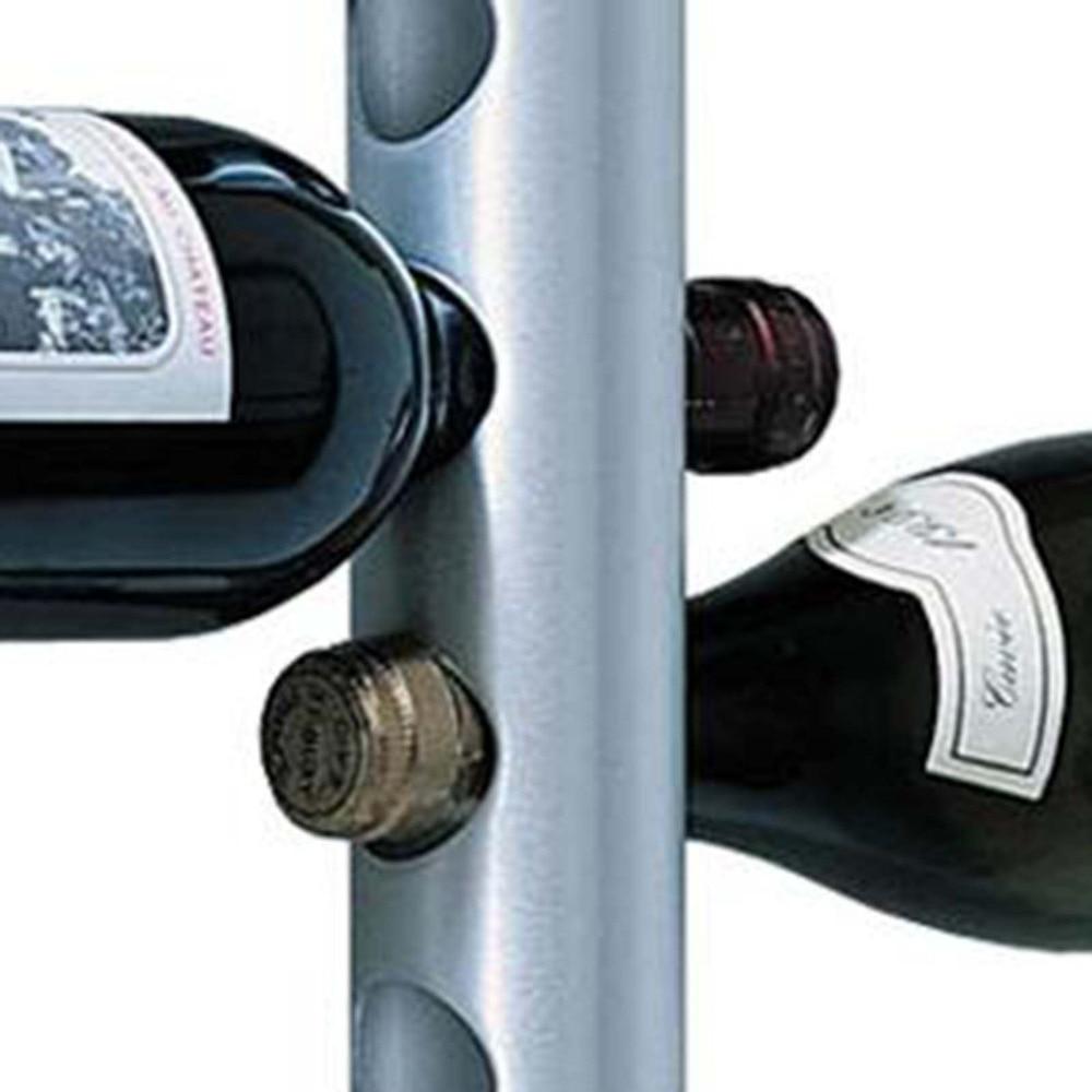 Stainless Steel Wall Wine Rack Wine Rack Wizard