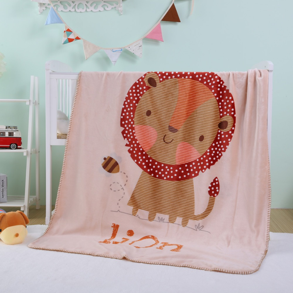Baby Winter Children Soft Lion Animal Blankets Cotton Keep Warm Kids Photography Prop Cover Up PlayMaty Kids New Year Gift lion check up gel