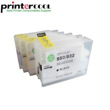 einkshop 953 Empty Refillable Cartridge for hp 953xl 955 954 952 XL Officejet Pro 8730 8740 8735 8715 8720 8725 Without Chip