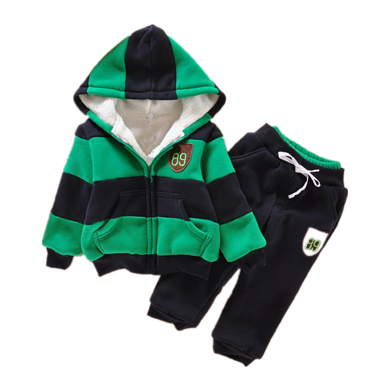 2018 Baby Boys Spring Autumn Clothing Set Infant Hoodies Shirt Newborn Babies Striped Sweatshirt Casual Outfit For Boy Thick2018 Baby Boys Spring Autumn Clothing Set Infant Hoodies Shirt Newborn Babies Striped Sweatshirt Casual Outfit For Boy Thick