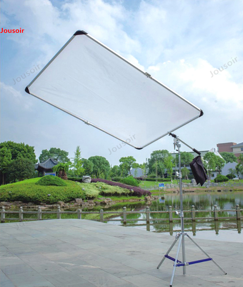 HG-1800 Butterfly Cloth Soft Light Screen Reflective Screen Foldable Portable Soft Plate Set Diffuser Frame T03 X CD50
