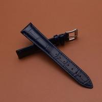 Dark Blue Watchband Straps Bracelet 14MM 16MM 18MM 19MM 20MM 21MM 22MM Promotion Watch Accessories fit quartz watches promotion