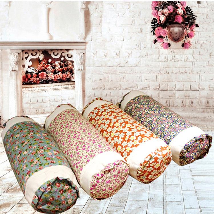 freeshipping health care pillow korean style buckwheat pillow lace bolster