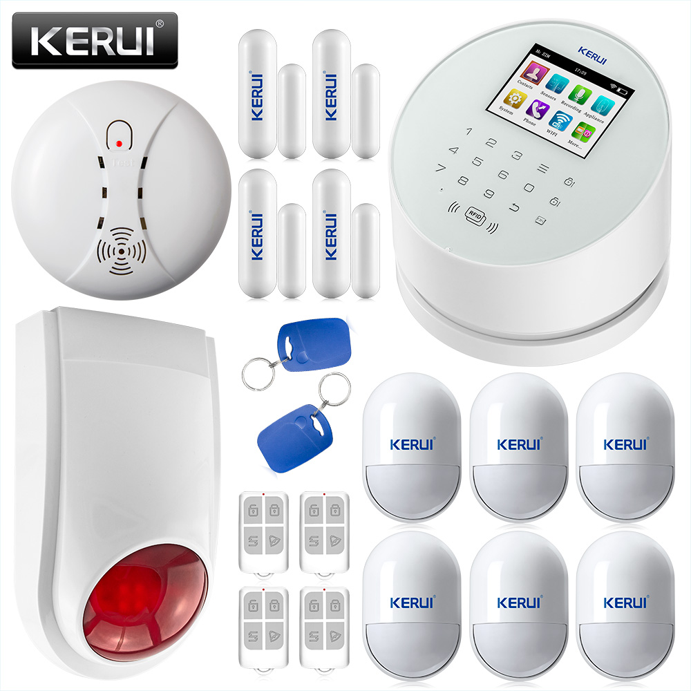 Aliexpress.com : Buy KERUI Wireless Door Sensor PIR Motion ...