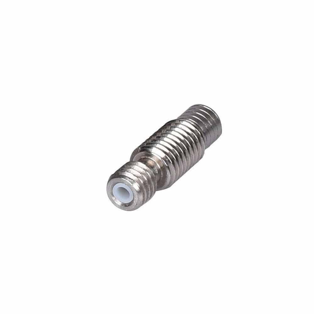 Remote Ptfe Lined V6 Throat 1.75mm Stainless Steel Barrel Heatbreak With Ptfe Tube For 3d Printer V6 1.75mm Extruder Hot End