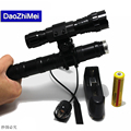 2000 Lumens LED Flashlight Hunting Torch Waterproof  CREE LB-XL T6 LED Flash Light With Gun Clip Remote Pressure Switch 18650