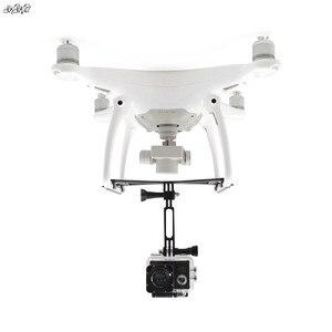 "Image 1 - עבור Gopro גיבור 6 5 4 3 & אוסמו פעולה & פנורמי מצלמה הר מחזיק נחיתה לdji פנטום 4 4 פרו/עו""ד drone אבזרים"