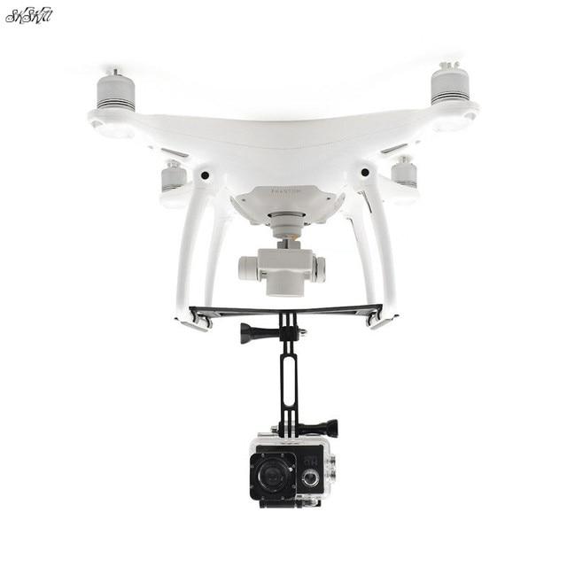 """עבור Gopro גיבור 6 5 4 3 & אוסמו פעולה & פנורמי מצלמה הר מחזיק נחיתה לdji פנטום 4 4 פרו/עו""""ד drone אבזרים"""