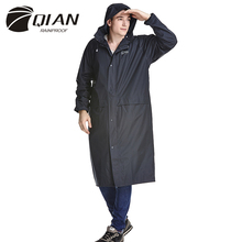 QIAN Raincoat Poncho Female