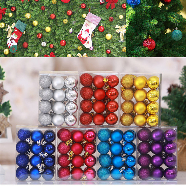 New 4Pcs Christmas Balls Baubles Party Xmas Tree Decorations Hanging  Ornament Decor Wholesale Free Shipping 30RJ23 - New 4Pcs Christmas Balls Baubles Party Xmas Tree Decorations Hanging