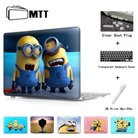 Stupid Minions Laptop Sleeve Protective Cover For Notebook Apple Laptop Macbook Air Case For Mac Case