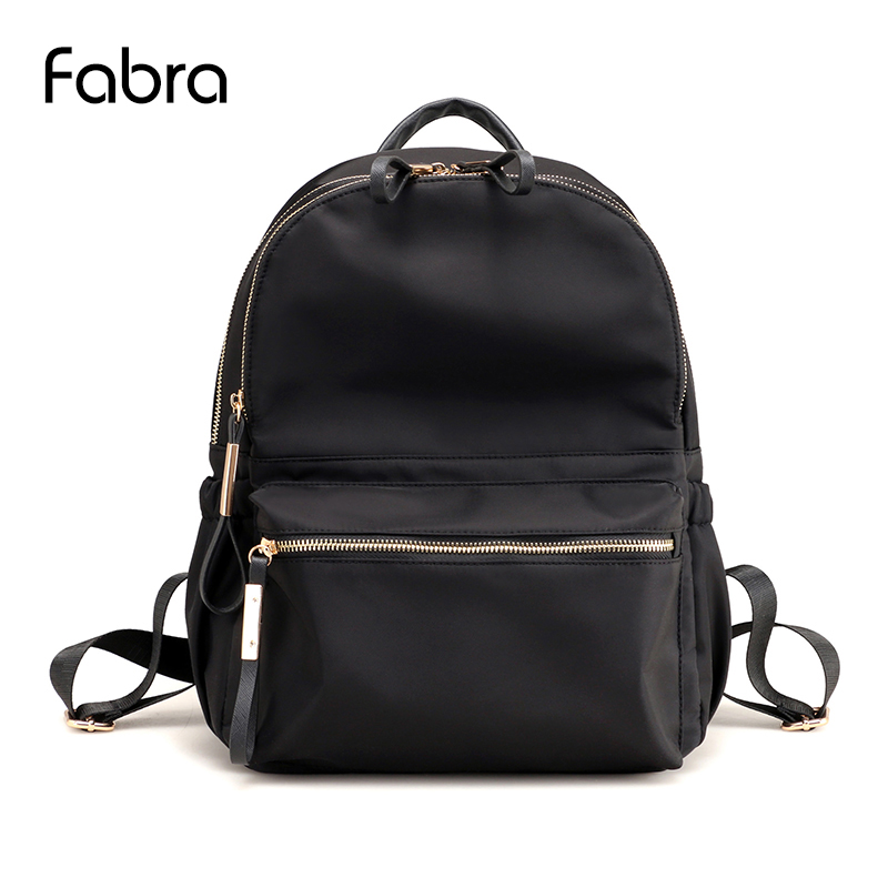 Fabra Women Backpack Fashion Waterproof Nylon Female Backpacks for Teenage Girl Student School Bags Rucksack Shoulder Bag Moclil 3157 fashion backpack women bag nylon waterproof school bags for teenage girls headphone plug travel daypack female shoulder bag