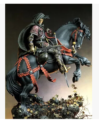 pre order-(General quality version) German Knight with 54mm Resin Model Kit Free Shipping pre order general quality version pinup savior resin model kit