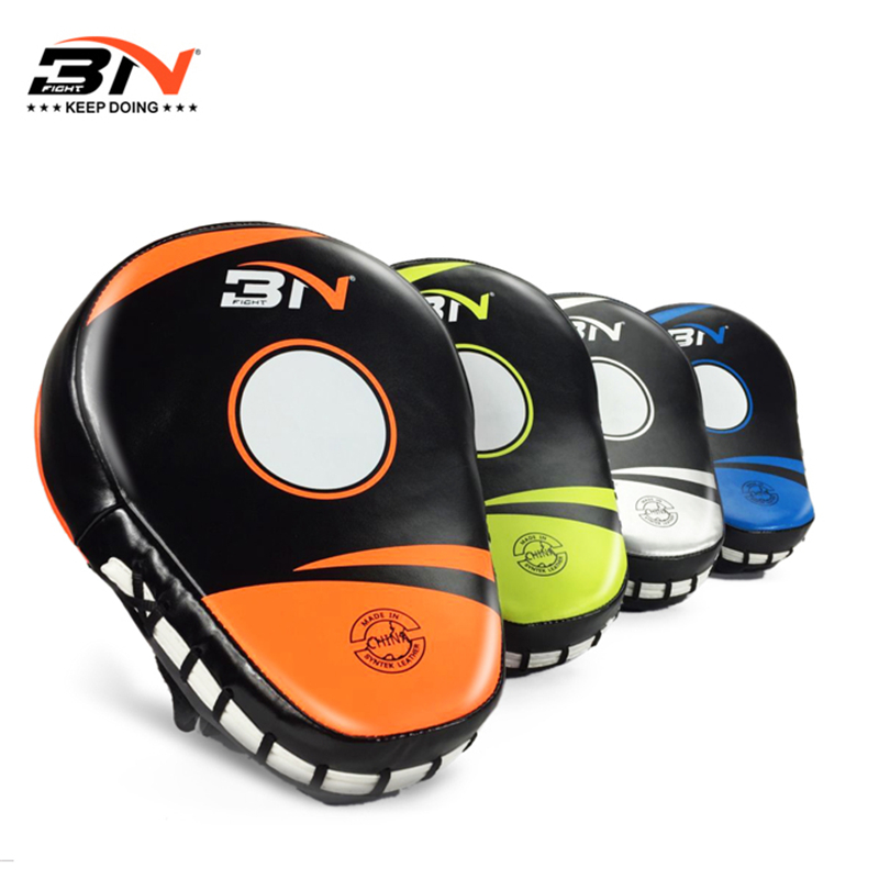 BN Good Boxing Pads training Punching Mitts Curved Focus Pad MMA kick hand Targets Gloves protector muay thai Focus Pad 1pc 3 in 1 corner rounder