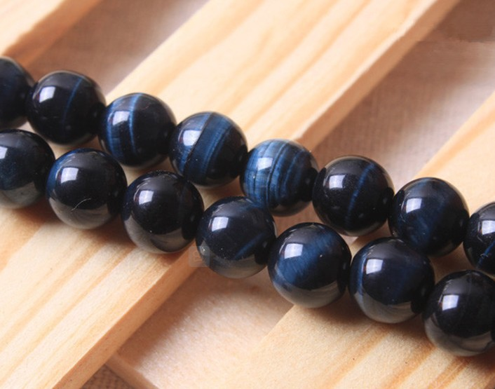 Lapis Lazuli Round Beads 8mm Blue 45 Pcs Frosted  Gemstones Jewellery Making