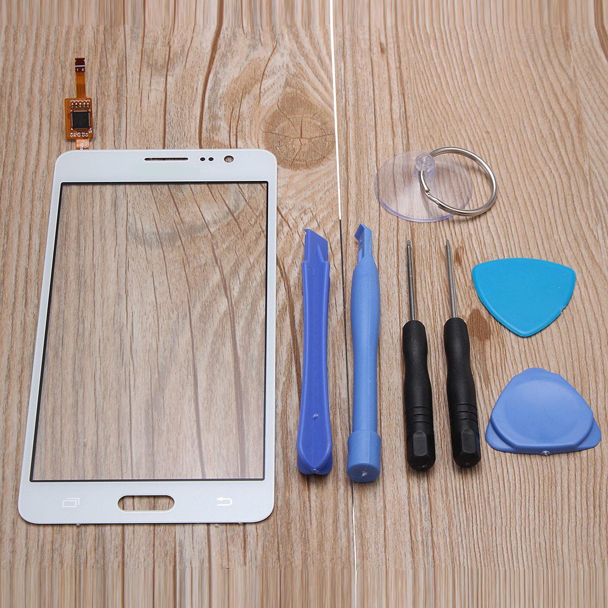 LCD Display Touch Screen Mobile Phone Screen Digitizer Assembly Glass Panel Replacement Parts for Samsung Galaxy On5 G550T