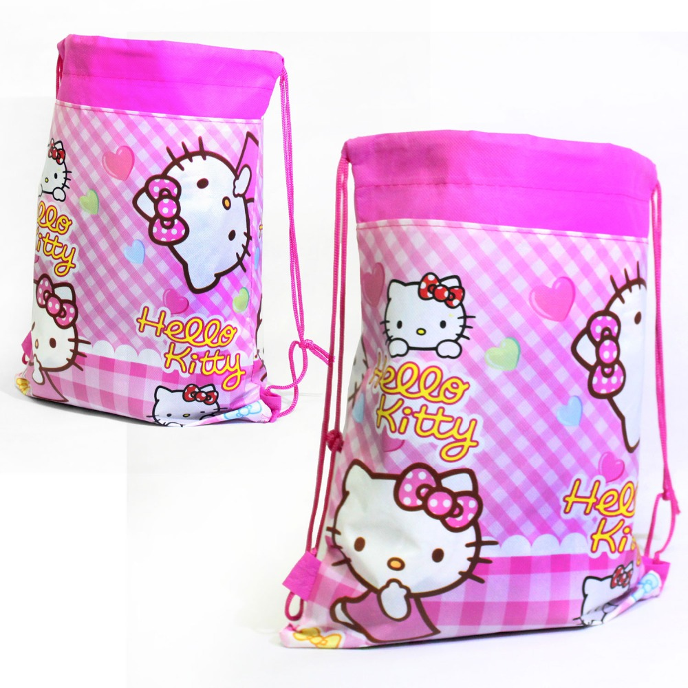 new hello kitty backpack school bags for girls lovely
