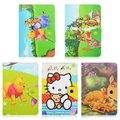 "Cute Kitty Bear Flip Stand PU Leather Cover Case For Universal 10""inch Tablet PC"