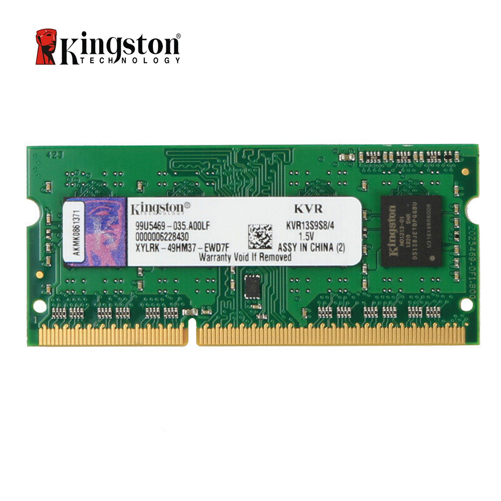 Ноутбук Kingston ValueRAM 4 Гб 1333 МГц PC3 10600 DDR3 без ECC CL9 SODIMM SR X8|Оперативная память|   | АлиЭкспресс