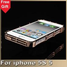 5S Luxury Steel Metal Bumper for iPhone5 5S Metallic Frame Cases Aluminium metal Bumper
