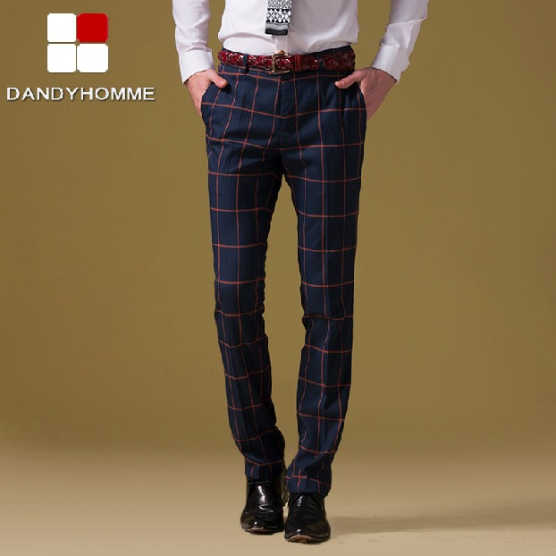 Popular Orange Plaid Pants-Buy Cheap Orange Plaid Pants lots from ...