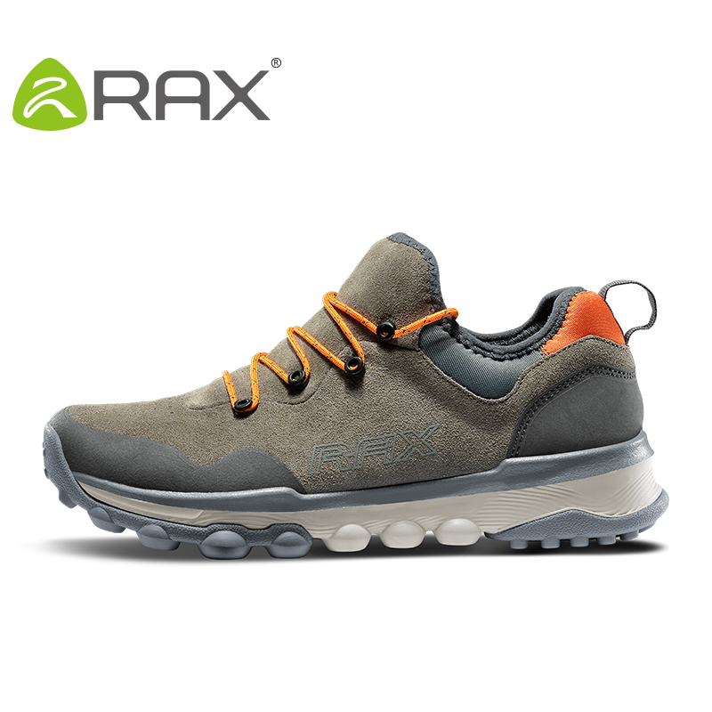 RAX Men Outdoor Sneakers Sports Hiking Shoes Trainers Trekking Woman Sneakers sapatos masculinos Mountain Climbing Shoes Leather rax outdoor hiking shoes woman leather surface waterproof hiking shoes for men lightweight trekking mountain climbing shoes men