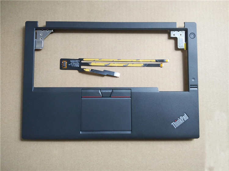 New Original for Lenovo ThinkPad X250 X250i X240 Palmrest Cover Upper Case + 3 Three Keys Touchpad + Fingerprint + Cable 00HT390 цена