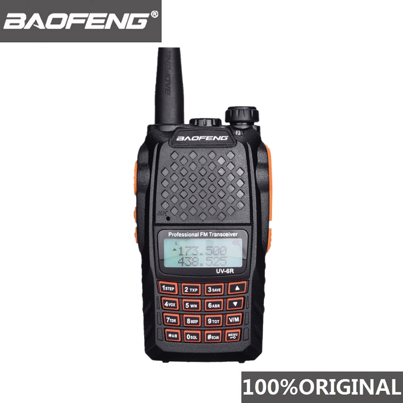 Baofeng UV 6R Walkie Talkie 7W Professional CB Radio Dual Band 128CH LCD Display Wireless Pofung UV6R Portable Ham Two Way Radio