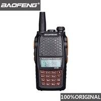 מכשיר הקשר שני Baofeng UV6R מכשיר הקשר 7W מקצועי CB רדיו Dual Band 128CH תצוגה LCD אלחוטי Pofung UV6R Portable Ham שני רדיו דרך (1)