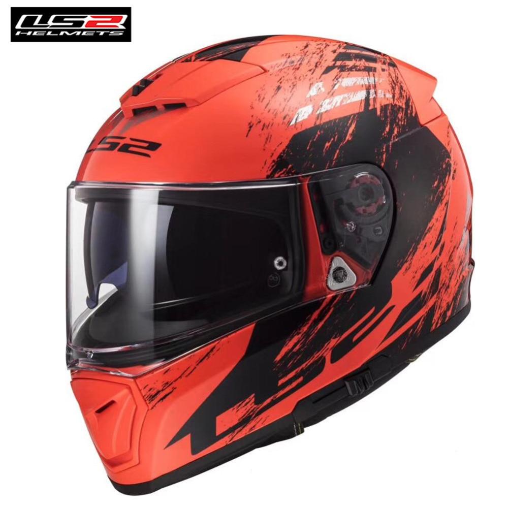 LS2 FF390 Breaker Full Face Motorcycle Helmet Racing Casco Capacete Casque Moto Kask Helmets Helm Kaski Motocyklowe Bike Motor