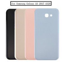 H-shirley For Samsung Galaxy A3 2017 A320 /A5 520 /A7 720Battery Glass Back Cover Housing Replacement Repair Parts