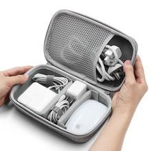 Жесткий корпус цифровые гаджеты сумка для хранения адаптер для Mac мышь кабель для передачи данных наушники HDD электронные гаджеты Органайзер чехол