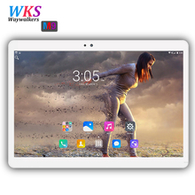 Free shipping 10 inch 3G phone tablet pc Android 7.0 RAM 4GB ROM 64GB Dual SIM card wifi Bluetooth 1920*1200 IPS Smart tablets