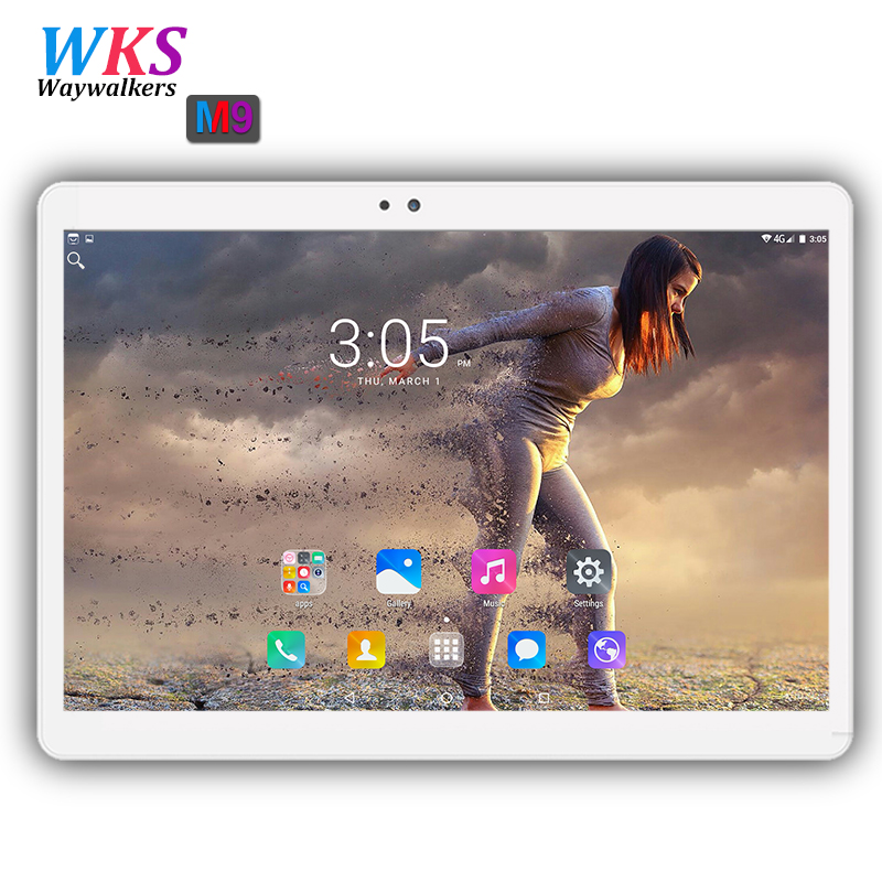 Free shipping 10 inch 3G phone tablet pc Android 7.0 RAM 4GB ROM 64GB Dual SIM card wifi Bluetooth 1920*1200 IPS Smart tablets waywalkers 10 inch tablet pc android 7 0 octa core ram 4gb rom 32 64gb 1920 1200 ips dual sim wifi bluetooth gps tablets phone
