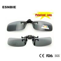 NEW 2015 Summer Style Gray Lens Sunshade Flip Up Polarized Clip On Sunglasses Women Men  Designer Sun Glasses