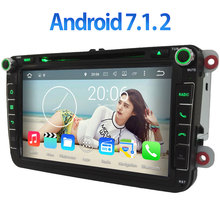 7.1.2 androide 3G/4G Wifi Quad core 2 GB RAM Gps Radio de Coche Reproductor de MP3 para VW Polo V 6R 2009 2010 2011 2012 2013